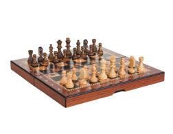 Μαγνητικό σκακιστικό σετ Barcelona   Κομμάτια σκακιού Staunton