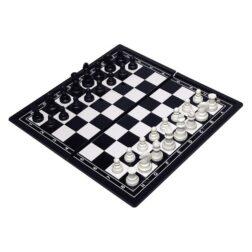 Επιτραπέζια μαγνητική σκακιέρα μικρή | Σκακιέρα για τις διακοπές σας