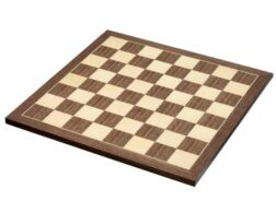 Ξύλινη σκακιέρα Handy 45x45 | Καφέ ξύλινη σκακιέρα