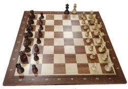 ΣκακιέραZeus+AmericanStaunton3''+κουτι+ρολόι | Σκακιστικό Σετ Προσφορά Ξύλινο